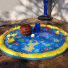 Inflatable PVC Children Outdoor Water Spray Mat Sprinkler Cushion Beach Toy For Child Baby