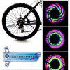 LED Bicycle Tyre Lights Motorcycle Bike Flash Spoke Lamp Outdoor Cycling Lights 24 Inches Wheel Lamp