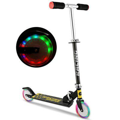 Foldable Children Pedal Two-Wheeled Scooter