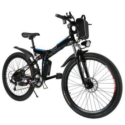 Ancheer 26inch 36V Foldable Electric Power Mountain Bicycle with Lithium-Ion Battery Image