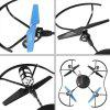 2.4G 4CH 6-Axis Gyro RC Quadcopter with LED Light Remote Controller