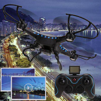 JJRC New 2.4G 4CH 6-Axis Gyro RC Quadcopter Aircraft Drone RTF with HD 2.0MP Camera