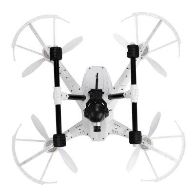 JJRC 3MP Wide Angle HD 4CH 2.4G 6-Axis Gyro Headless Mode One Key Return RC Quadcopter Drone White