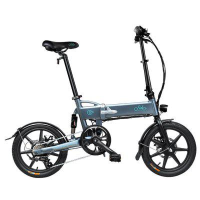 Lightweight Aluminum Alloy Folding Bicycle With Tire 250W Hub Motor Image