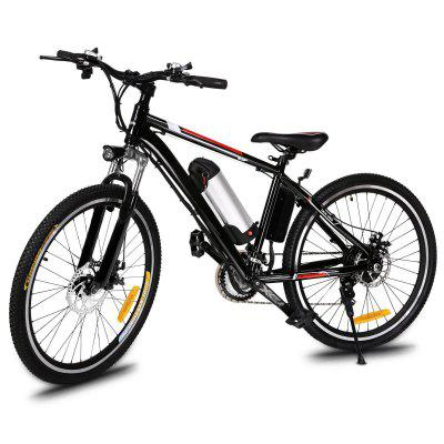 Ancheer 26 Inch 250W 21 Speed Powerful Electric Bike City Road Electric Mountain Bicycle Image