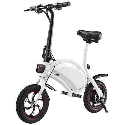 Electric Bike Folding Portable Bicycle Range Adult Student Bicycle Mini Aluminum Alloy Smart Moped Image