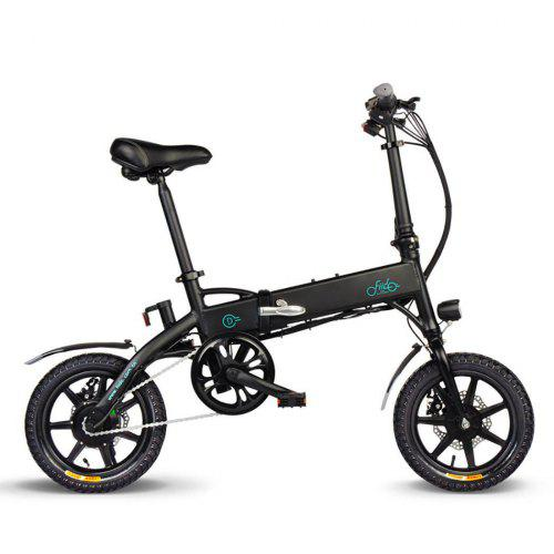FIIDO D1 Aluminum Alloy Folding Electric Bicycle With Pedals Tire 250W Hub Motor