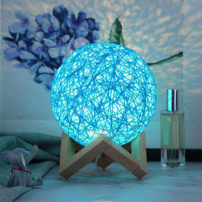 USB Home Bars Cafes Romantic Places Ball Shape LED Night Light