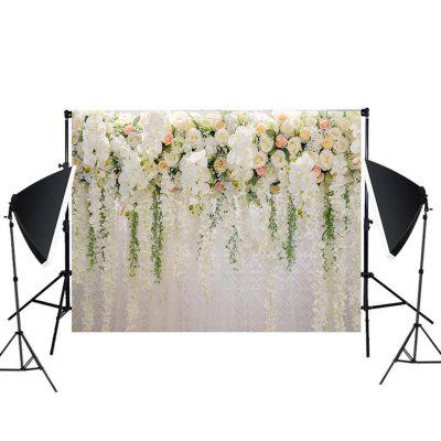 Flower Wall Wedding Photography Props 3D Photo Background Cloth