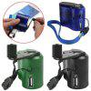 Outdoor Emergency Charging Survival Tools USB Cell Phone Hand Crank Charger