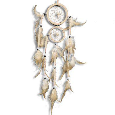 Handmade Feather Dreamcatcher Bed Room Wall Hanging Decoration Ornament