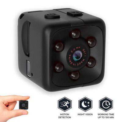 SQ11 Black HD Photograph Night Vision Sports Camera