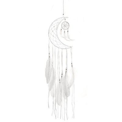 Dream Catcher Moon Feather Home Decor Car Interior Hanging Pendant Ornament