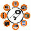 Portable Lavalier Condenser Microphone for Mobile Phone Laptop