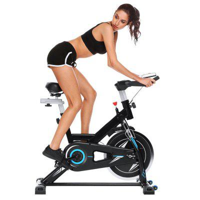 Ancheer Bicycle Health Fitness Belt-driven Indoor Exercise Bike With18 kg Flywheel And No APP Image