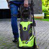1800W 2200PSI 1.8GPM Electric High Pressure Cleaner Reel Style Cleaning Machine