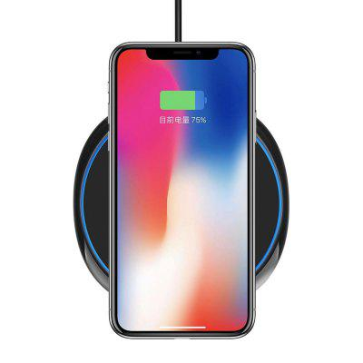 Qi Wireless Charger Pad Fast Wireless Phone Charging Stand For iPhone Or Samsung