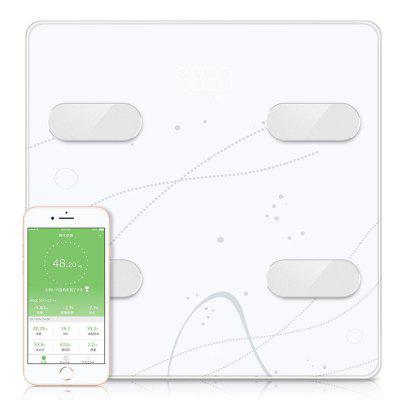 Bluetooth Body Composition Smart Weighing Scale Analysis Mass Index Body Fat