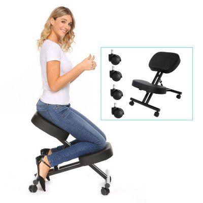 Ergonomic Kneeling Chair Adjustable Stool For Home and Office with Thick Comfortable Cushions