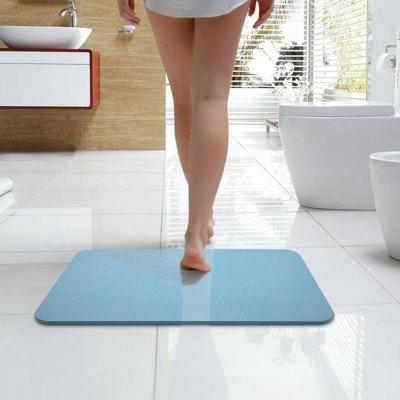 Diatomaceous Natural Antibacterial Anti Slip Bathroom Floor Bath Mat Fast Drying