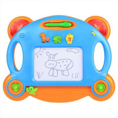 Arshiner Kinder Kinder Magnetic Writing Zeichenbrett Musical Mit Licht