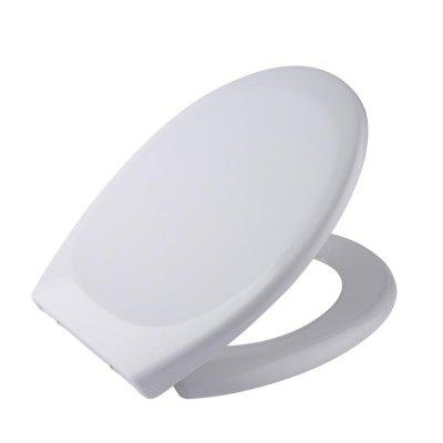 Toilet Seat with Cover U Or O Shape Soft Close Quick Release Easy Cleaning
