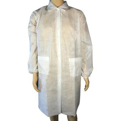 Disposable One-Piece Isolation Suit Non-woven Dust Free Work Clothes