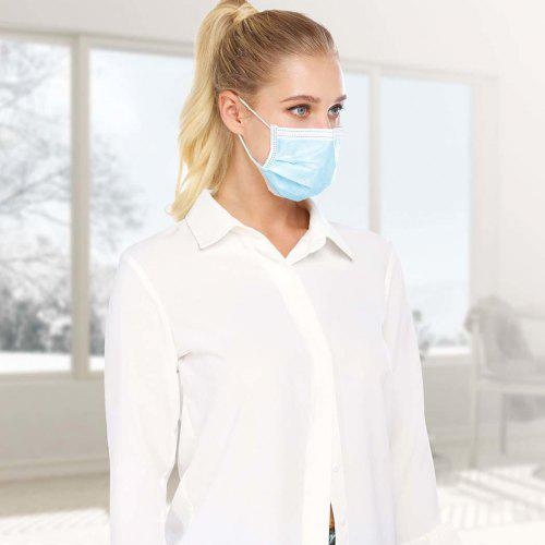 50pcs Unisex Disposable Earloops Mouth Mask Face Mask
