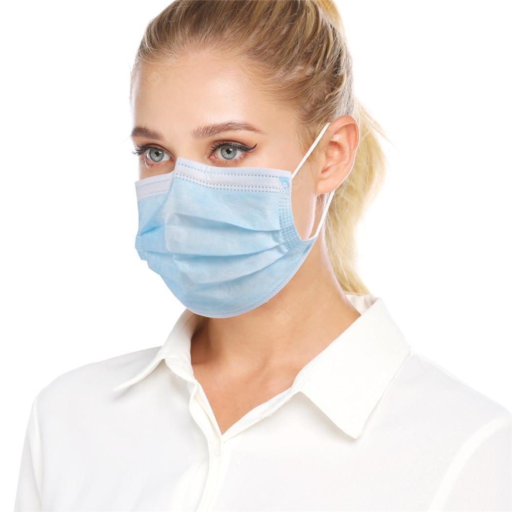 3-Layer Disposable Mouth Mask Breathable