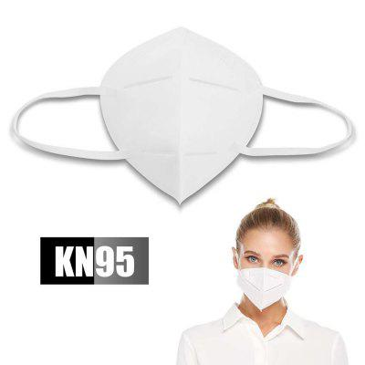 Disposable KN95 Mouth Mask Unisex Earloops Dust-proof Mouth Mask Common Non-medical Mask
