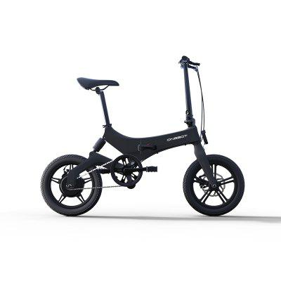 ONEBOT S6 LED light Electric Bike Folding Bicycle 250W 50km Mileage Image