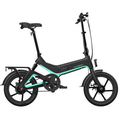 Samebike JG7186 Electric Moped Bicycle 250W Max 25 Degree Gradient Image