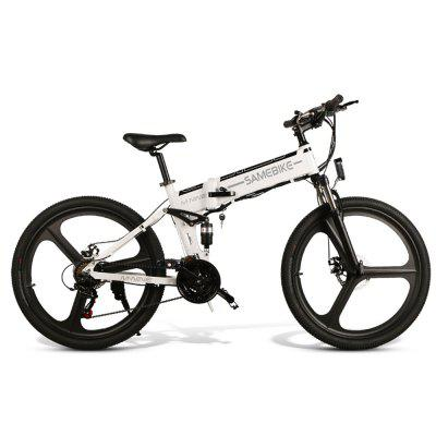 Samebike LO26 Smart Moped Electric Bike Bicycle 10.4Ah Battery Front / Rear Disc Brake 26 inch Wheel EU Version Image