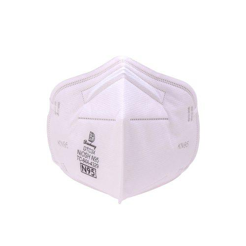 1 BOX 20PCS FFP2 N95 NOISH Approved Mask Respirator Face Mask 4 Ply AntiDust For Fire Smoke Non-medical