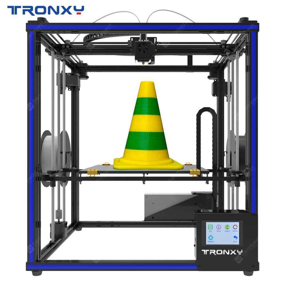 Tronxy High Precision Large Size Touch Screen Diy Industrial Home Use Commercial X5st 2e