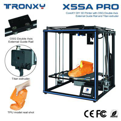 Tronxy New upgraded CoreXY guide rail FDM 3d printer TRONXY X5SA PRO Titan extruder