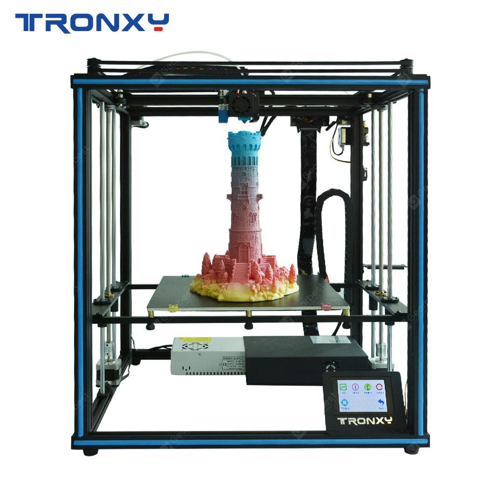 Tronxy X5SA-400 24V Factory Price Desktop Educational Home Use Industrial 3D Printer Prusa I3 3D | Gearbest