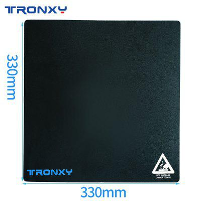 Tronxy black textured paper 3D printer hot bed sticker sticker size 330X330mm