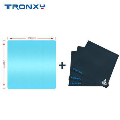 Tronxy X5SA Series Aluminum Plate and 3 Sticker Combination Aluminum Plate for Automatic Leveler