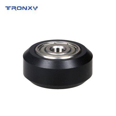 Tronxy printer accessories d-roller 3D printer parts plastic wheel with bearings 5 pcs