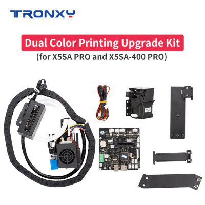 Two-color Printing Upgrade Kit For X5SAPRO / X5SA-400PRO X5SA-500PRO to X5SAPRO-2E X5SA-400PRO-2E X5SA-500PRO-2E 3D Printer Parts