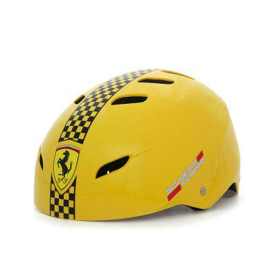Ferrari Adult Kids Skateboard Helmet Hip hop Bicycle Scooter Skating Sports Protect S M L