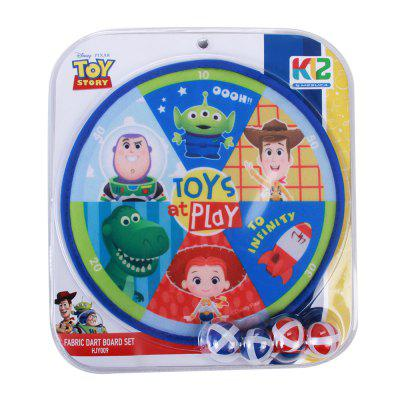 Disney Toy Story Kids Dartboard with Sticky Balls Throwing Target Game for Children Dart Ball