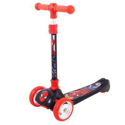 Disney Adjustable Kick Scooter 3 Wheel Minnie Disassemble Scooter for Children Outdoor Fun Kids Gift