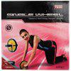 Mesuca Super-k Double Exercise AB Wheels Roller Abdominal Waist Workout Fitness Equipment