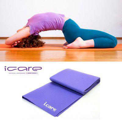 Mesuca Joerex Icare Easy Carry Folding Yoga Mat Pad Non Slip Pilates Mat Gym Home Fitness Purple 4mm