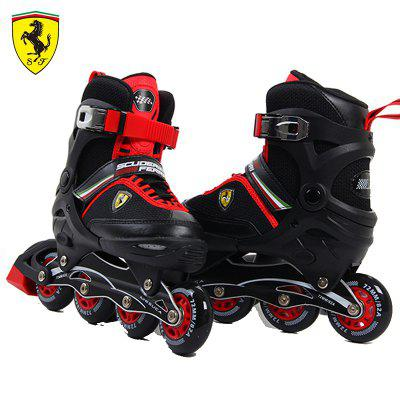 Mesuca Ferrari Boys Kids Men Adjustable Inline Skate Shoes Rollerblades