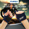 Mesuca Joerex Work Out Half Finger Gloves Gym Sport Exercise Training for Men