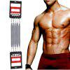 Mesuca Joerex Exercise Chest Pull Expander Fitness 5 Springs Arm Muscle Strength Adjustable
