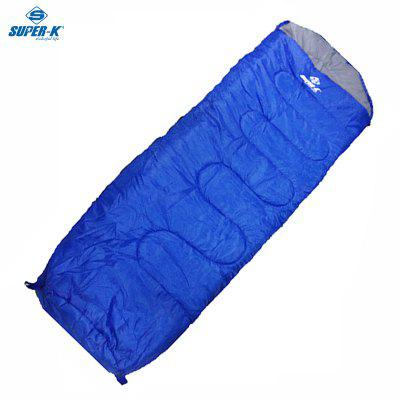 Mesuca Super-k ASFB43151 Tour Sleeping Bag Camping Envelope Sleeping Bag Waterproof Blue